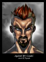 Andrei by Gouki ::color:: by Ronash