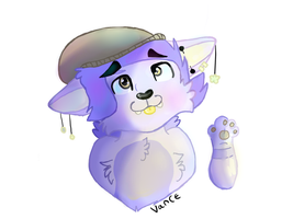 Vance//art trade UPDATED by Vellix-Dog