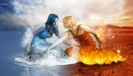 Water and Fire by nxlam1801