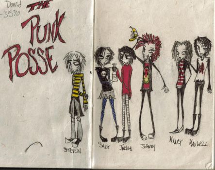 the punk posse by oompaloompa816