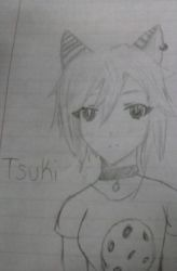 Anime Style! Tsuki by Shimmering-Moon