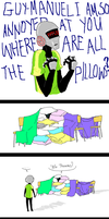 PILLOWS by lymEpenguin