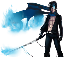 Black Rock Shooter Ver. Male Kaito 2 by nicoyguevarra
