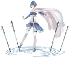 Miki Sayaka by the-searching-one