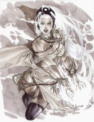 Storm in Copic Marker by me eBas by ebas