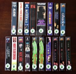 V/H/S Bookmarks - Series 6 by RecycledHorrors