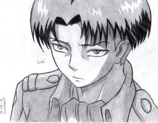 Levi Scanned Ver. by lilredbleed