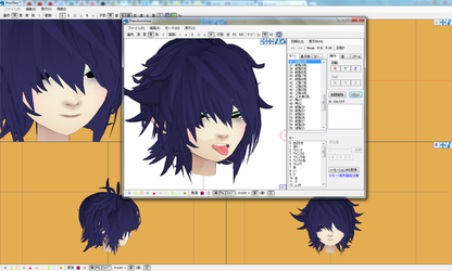 [MMD] Noodle (wip) by AsanoAtsuki