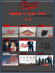 Fargo Season 2 Icon Pack v.2 by thelegotimelord