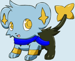 Luca the Shinx by Pokemon-All-4-One