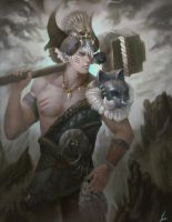 Warrior01 by Linfter