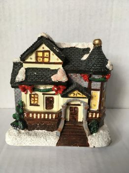 Christmas House Ornament 2 by wintersmagicstock