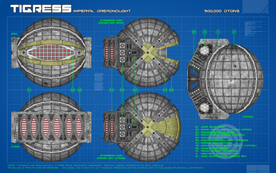 Traveller - Tigress Dreadnought Ortho (v.1.5) by Shadowstate