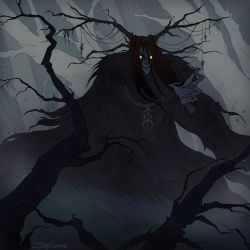 Creeping darkness by IrenHorrors