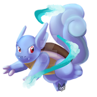 Pokemon: Wartortle by Takarti