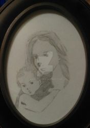 Madonna and Child by Tamuril2