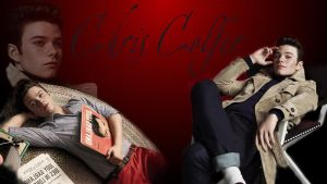 Wallpaper - Chris Colfer by DarinaBerry