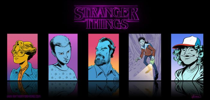 Stranger Things by biotron