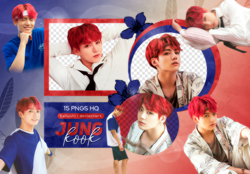 PNG PACK: JungKook #25 (Summer Package in Saipan) by Hallyumi