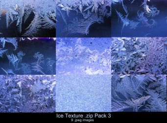 Ice Texture .zip Pack 3 by Melyssah6-Stock