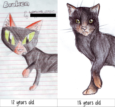 Cat Comparison by x-Musty-x