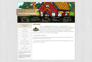 Ambition Website by elephanh