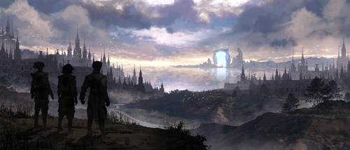 Desolation of a once Flourishing City by LTprojects
