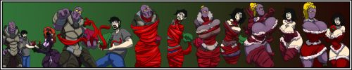 temporary alien festive sequence commission lowres by imric1251