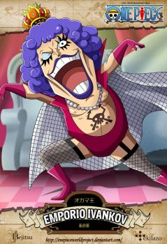 One Piece - Emporio Ivankov by OnePieceWorldProject