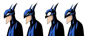 batman  eye expressions by HEROBOY
