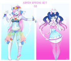 Admin Spring set 2: CLOSED by Lunathyst