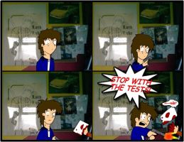 Comic 4 - Stop the damn tests by Mr-Page