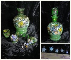 One Year of Luck - Jar with 365 paper star charms by Fandragon