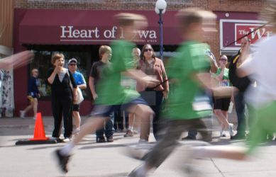 Racing in the Heart of Iowa by Jessica-in-Iowa