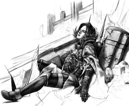 Ecstasy of Service - WIP by tacticangel