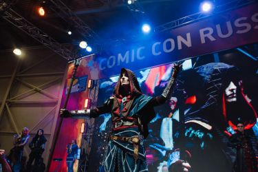The Witcher: Avallac'h on Comic Con Russia 2017 by RenShuher