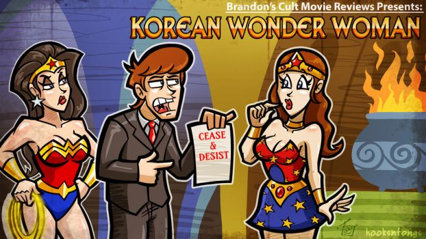 Title Card: Korean Wonder Woman by hooksnfangs