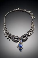 blue necklace 2 by Haley-winter