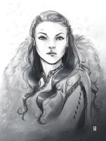 Queen in the North by Gudulett-e
