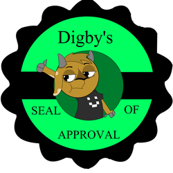 Digby's Seal of Approval Alt by SmuglyOtaku