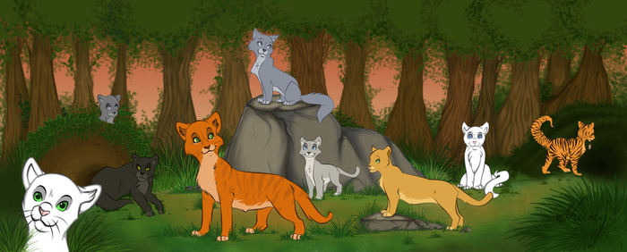 Cats of the ThunderClan by ShungiLion