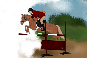 POYS Show Jumping Qualifier by NorthernMyth