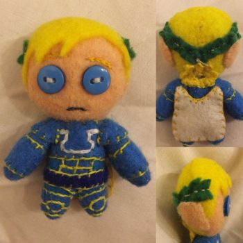 Warhammer - Primarch Roboute Guilliman Plush by Jack-O-AllTrades