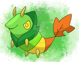 Leafcoon fakemon by Charenel