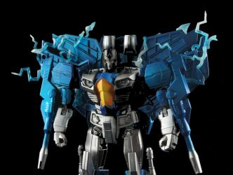 Close up of custom of the Rainmaker Ion Storm by CascadiaSci