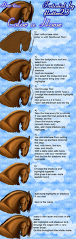 How to color a horse Tutorial by flutter23