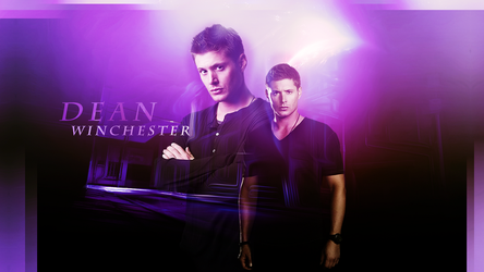 Wallpaper_Dean Winchester002 by numb22z