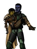 (Swtor: Bounty hunter spoiler) Force and fire by Ddriana