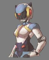 Robot Girl by Mick-cortes