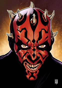 Darth Maul by LuiZ-H